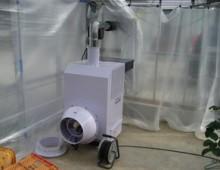 ペレット温風暖房機