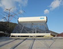 真空管式太陽熱温水器サナース