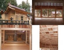 神社仏閣の建築工事